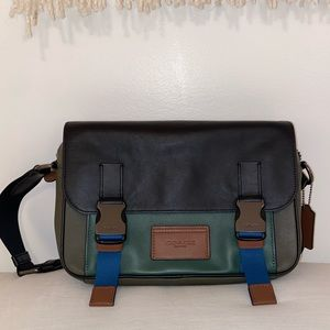 Coach mini messenger bag
